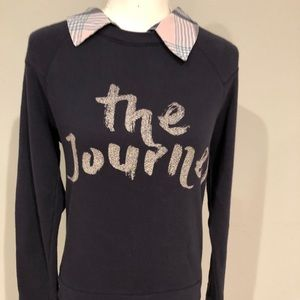 Soft Joie Tops - Soft Joie Haruna Combo Sweater w/Plaid Shirting